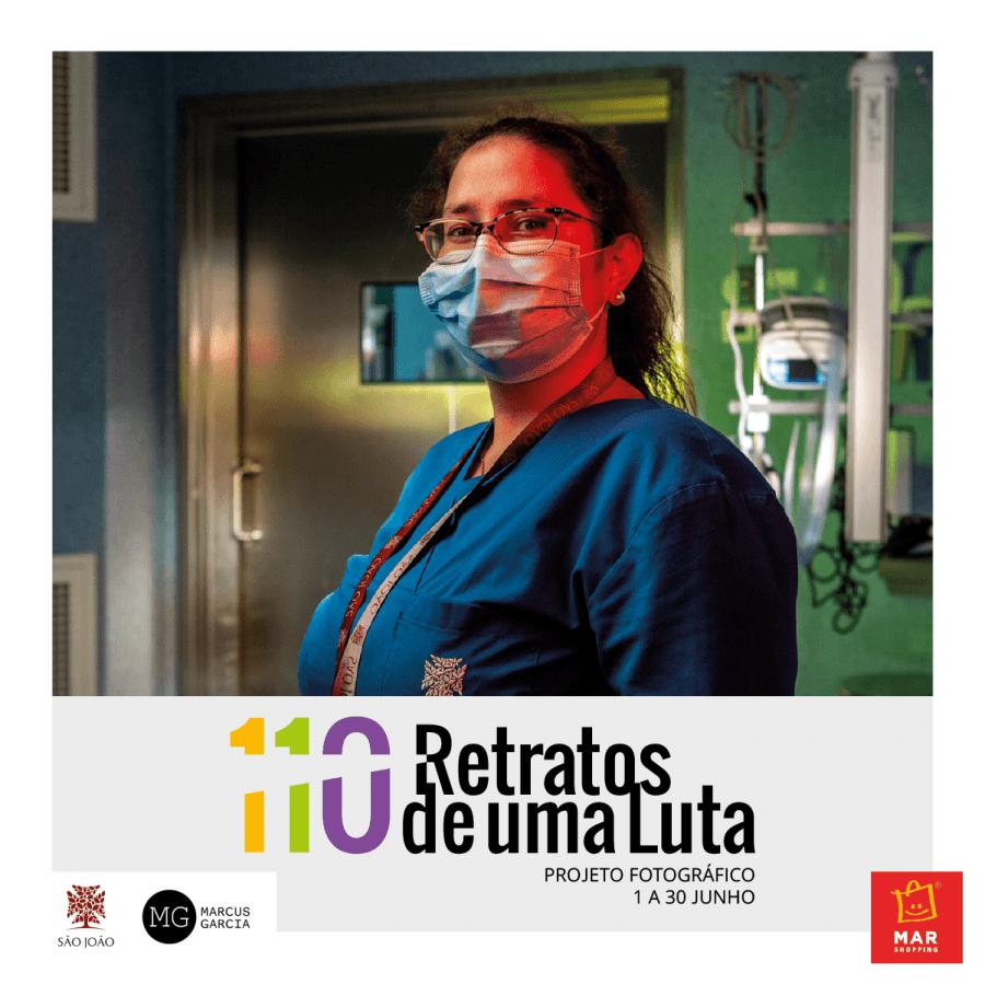 MAR Shopping Matosinhos recebe exposição que homenageia profissionais de saúde na linha da frente na luta contra a Covid-19