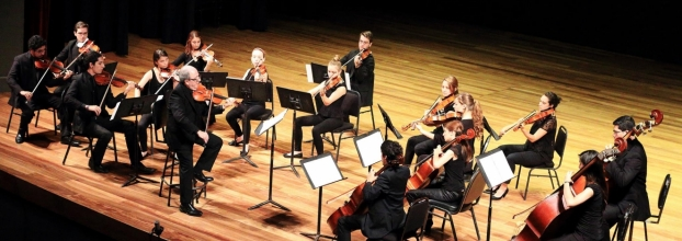 IX concierto de temporada oficial. Camerata avanzada, Ensamble de Percusión & Banda Sinfónica Juvenil