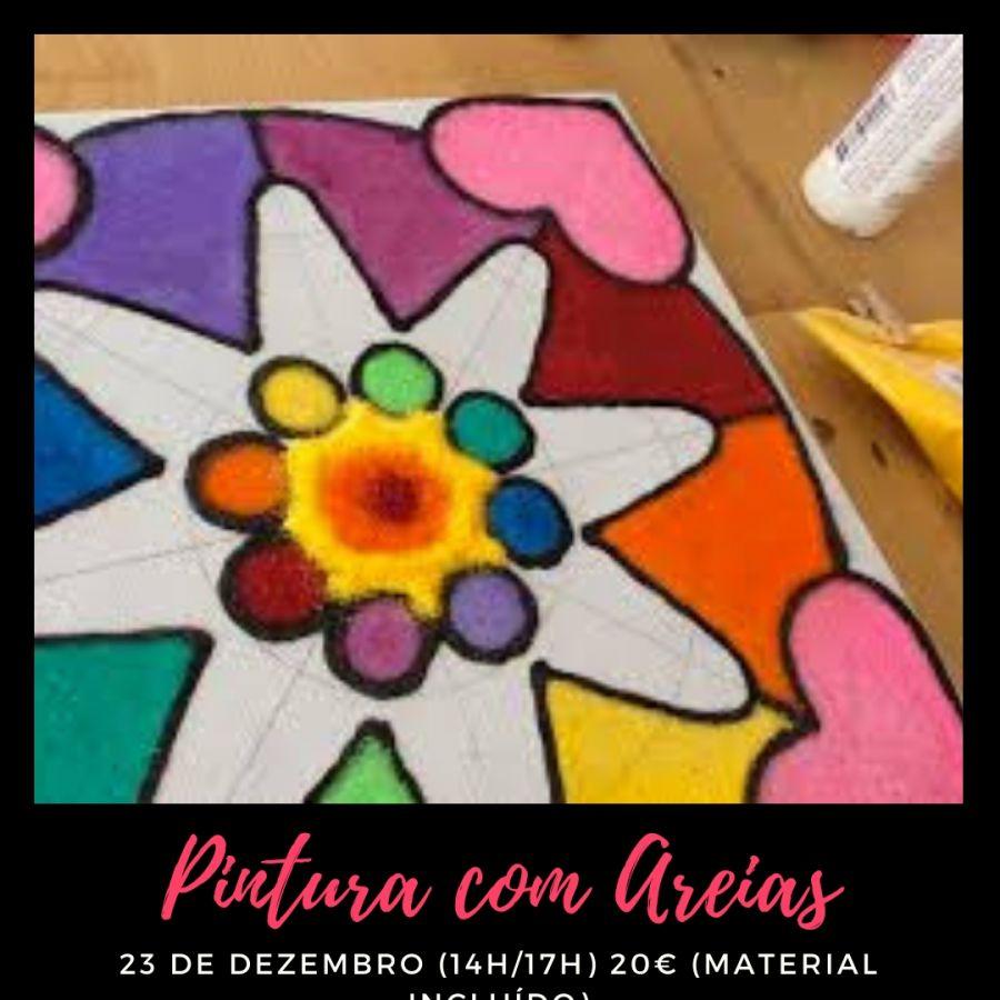 Workshop de Pintura com Areias