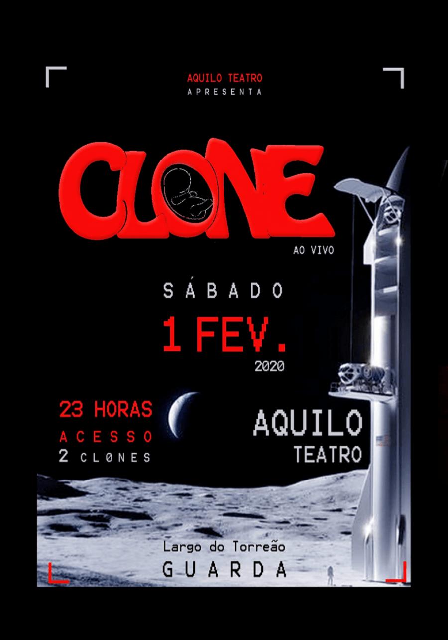 CL0NE ao vivo @ Teatro Aquilo