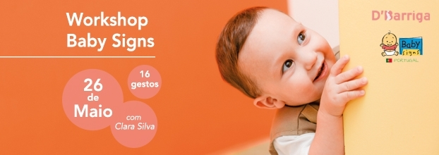Workshop Babysigns - 1ª vez no DBarriga