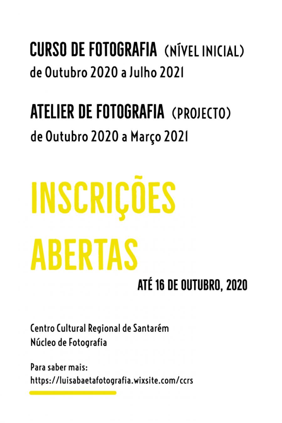 Curso e Atelier de Fotografia no CCRS