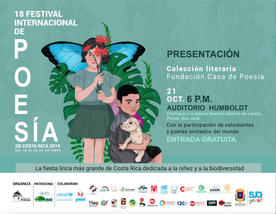 18 Festival Internacional de Poesía. Fundación Casa de Poesía. Presentación colección literaria