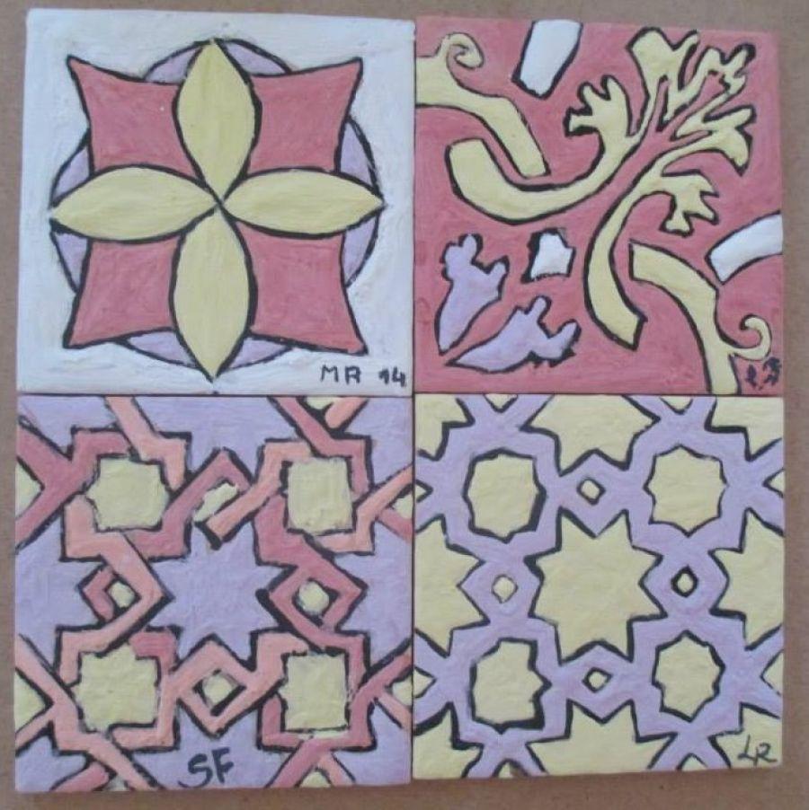 C22 Técnicas de pintura de azulejos  FORMADOR Ninoska Trillo  LOCAL Santa Maria da Feira, Atelier Obradoiro de Cerâmica e Azulejo - Paços de Brandão  REGIÃO Cen