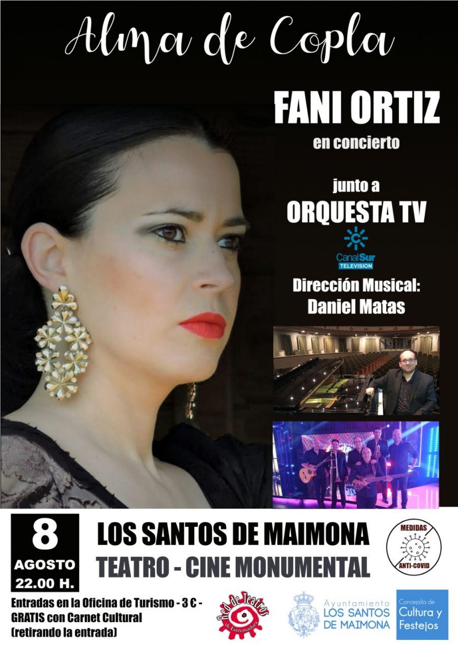 FANI ORTIZ en concierto junto a ORQUESTA TV