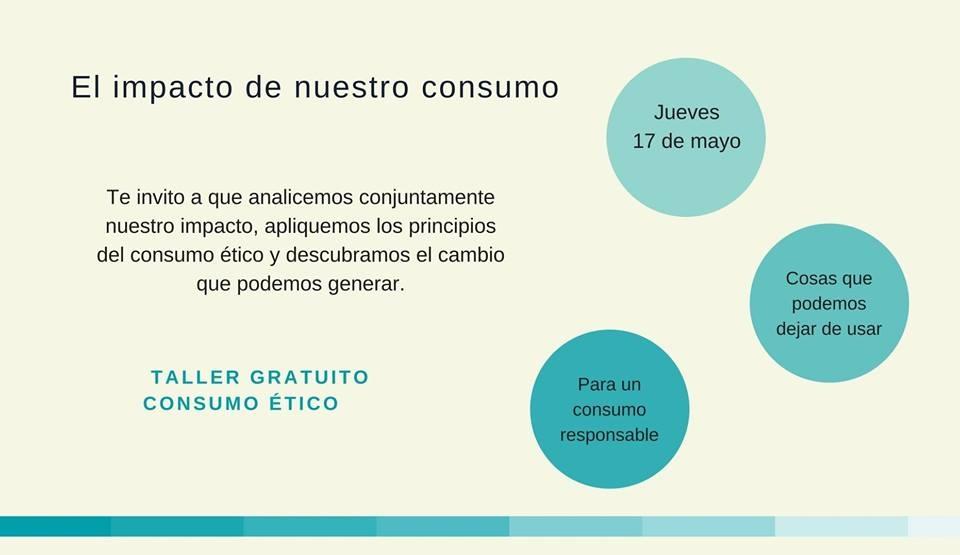 Taller 'El impacto de nuestro consumo'