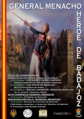 Exposición 'General Menacho, héroe de Badajoz'