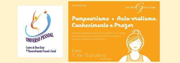 Workshop 'Pompoarismo + Auto-erotismo, Conhecimento e Prazer' com Carmo Gê Pereira