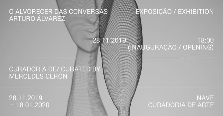 A Exposição 'O ALVORECER DAS CONVERSAS' de ARTURO ÁLVAREZ