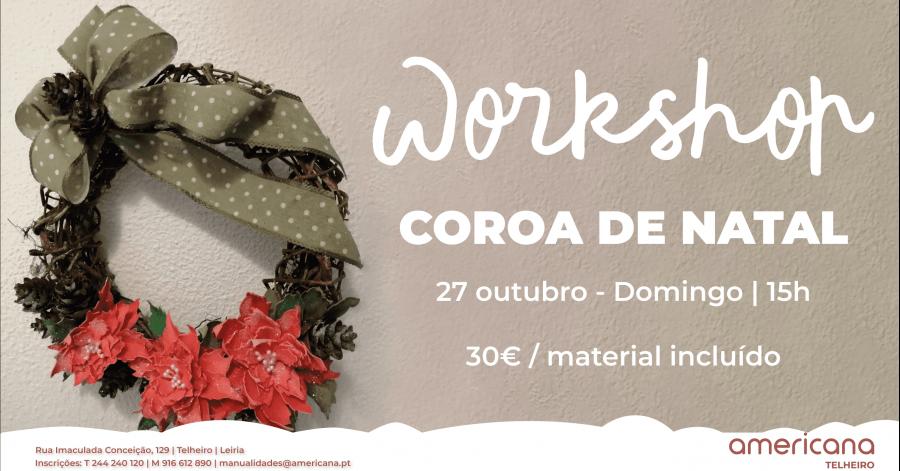 Workshop Coroa de Natal
