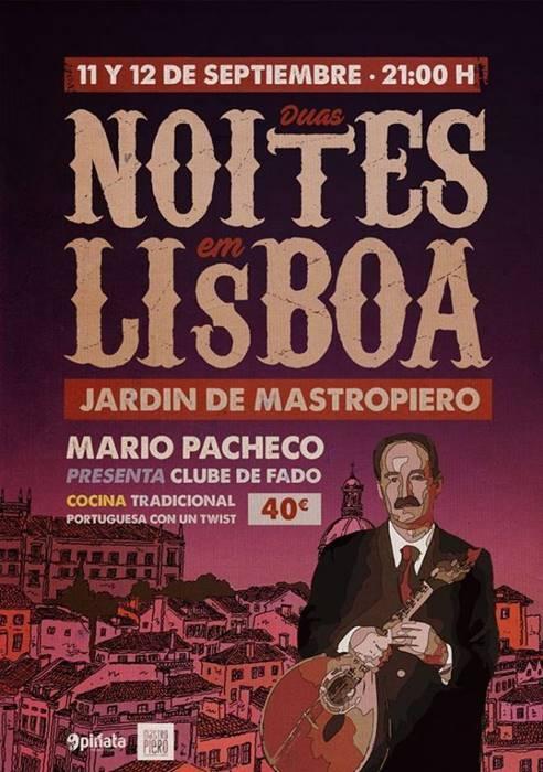 Duas Noites em Lisboa 2018    Mastropiero Gastrobar y Jardín