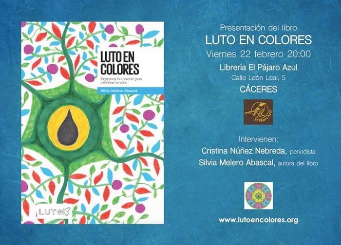 Presentación 'Luto en Colores' de Silvia Melero Abascal