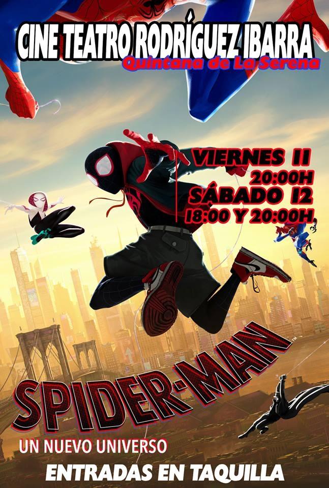 Proyección 'SPIDER-MAN: Un nuevo universo' | Quintana de la Serena