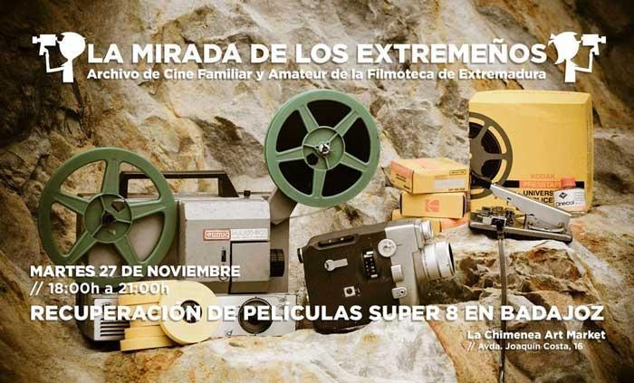 Recuperación de películas Super 8 en Badajoz | 27 de noviembre