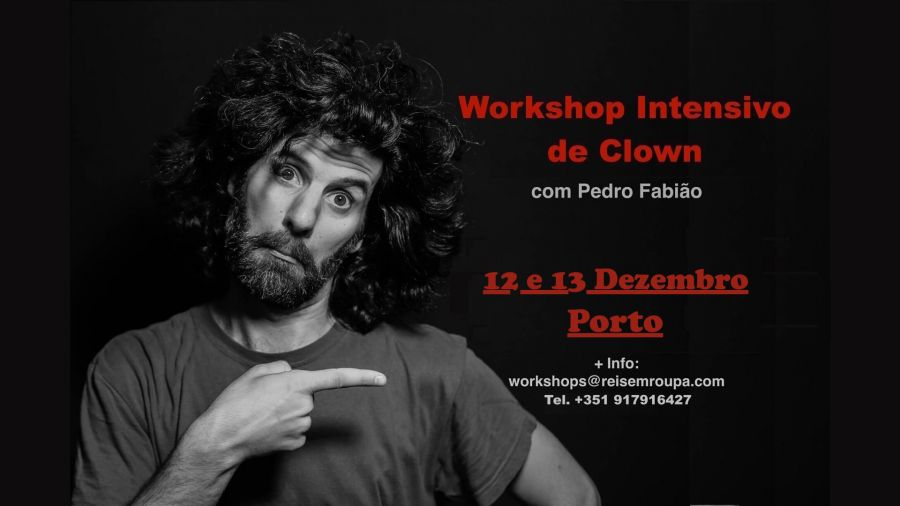 Workshop Intensivo de Clown - Porto