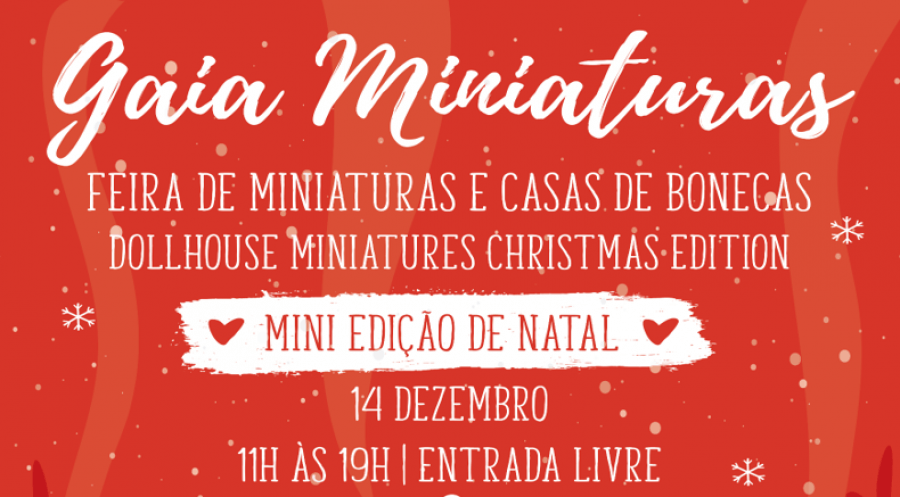 Gaia Miniaturas edição Natal 2019
