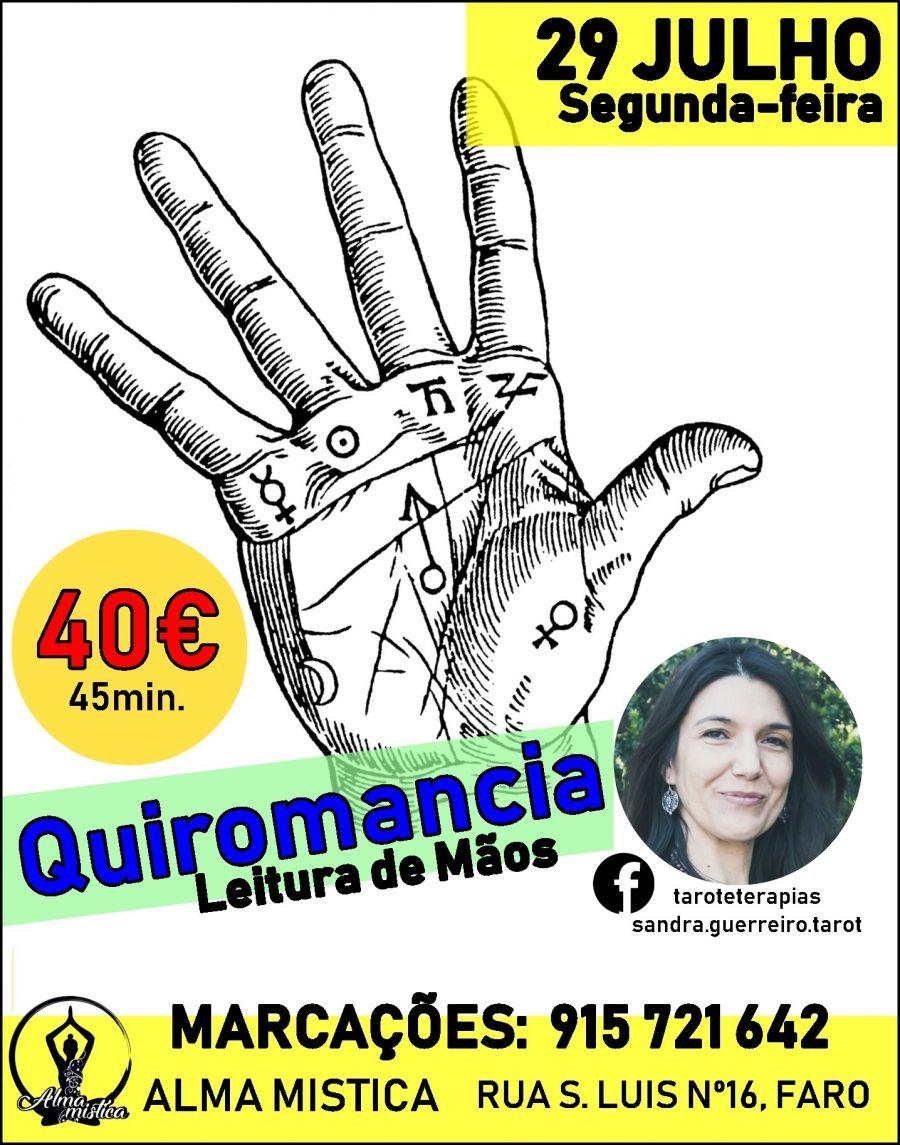 Quirologia com Sandra Guerreiro