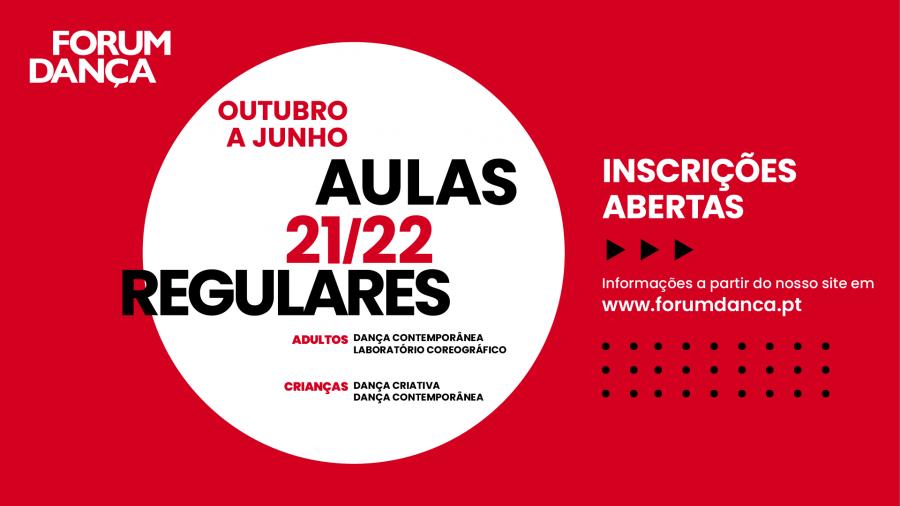 AULAS REGULARES DO FORUM DANÇA 2021/22