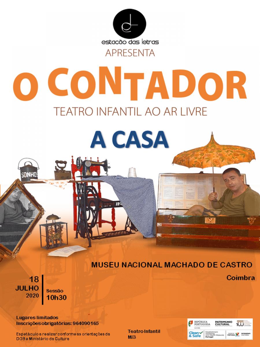 O Contador - a casa | Teatro para a infância