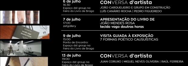 Programação Feira do Livro de Braga | Braga's Book Fair Program