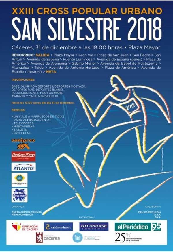 SAN SILVESTRE 2018 | Cáceres