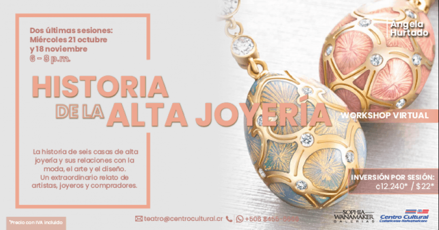 Historia de la Alta Joyería, con Ángela Hurtado