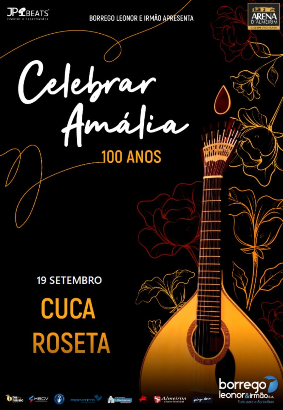 Celebrar Amália -100 anos   Cuca Roseta