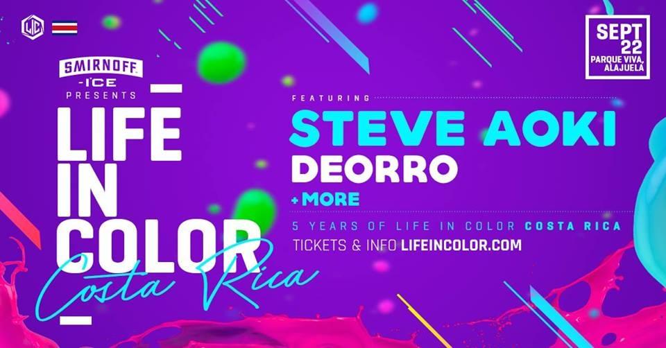 Life in color. Steve Aoki & Deorro. Electrónica Dj set