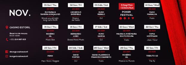 One More Time - Música ao Vivo no Casino do Estoril
