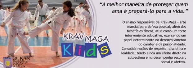Krav Maga Kids (dos 6 aos 12 anos) - Aula Experimental