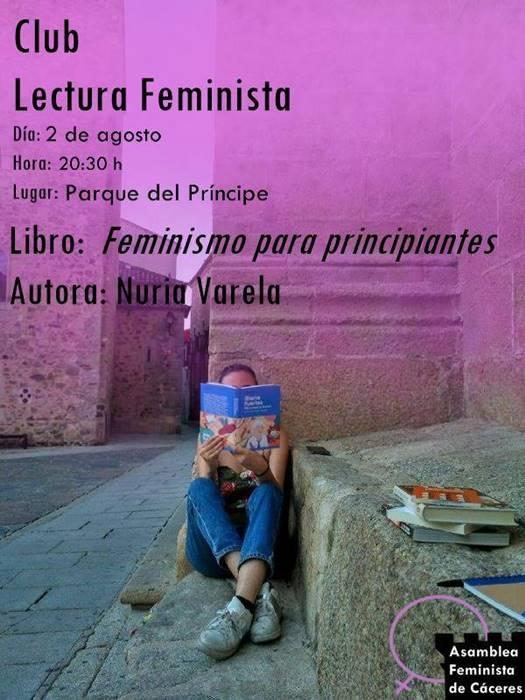 Reunión del Club de Lectura Feminista || 'Feminismo para principiantes'