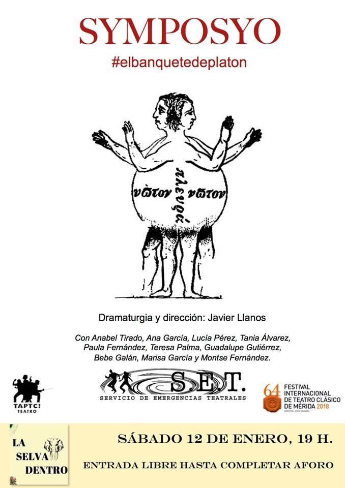 Teatro 'Symposyo' de Javier Llanos | La Selva Dentro