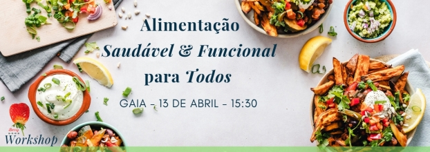 Workshop de Alimentação Saudável e Funcional para Todos
