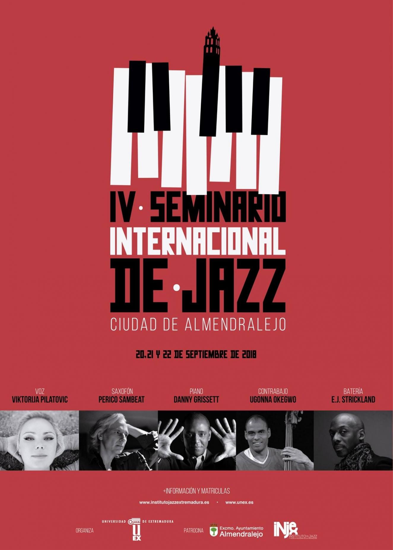 IV Seminario Internacional de Jazz 'Ciudad de Almendralejo'