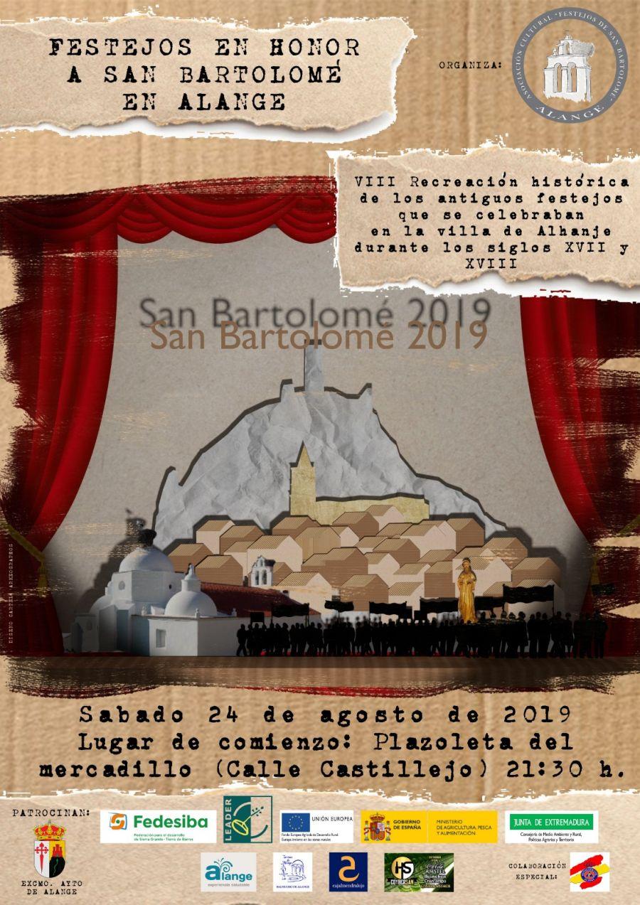 VIII Recreación Histórica en Honor a los Festejos de San Bartolomé