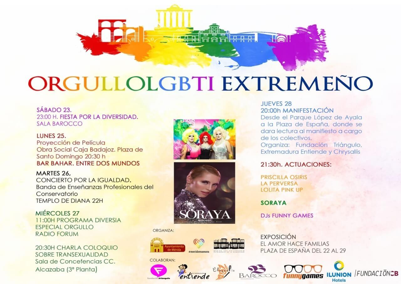 Orgullo LGBTI Extremeño en Mérida