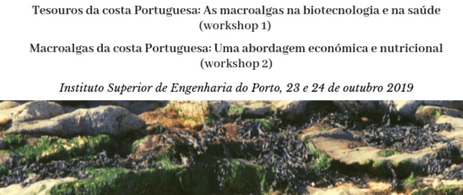 Workshops de Macroalgas no ISEP