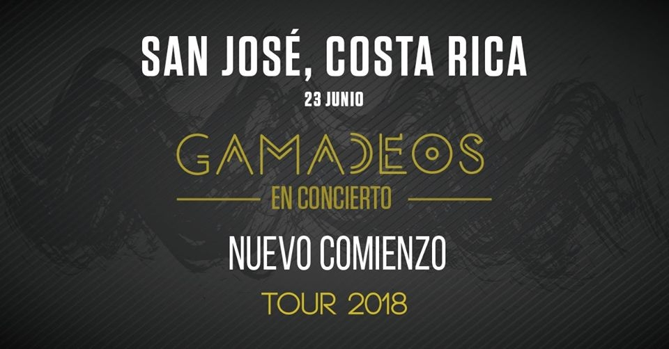 Nuevo Comienzo. Tour 2018