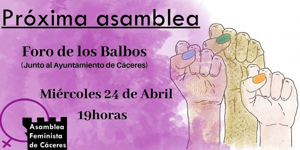 Asamblea Feminista // 24 abril, 2019