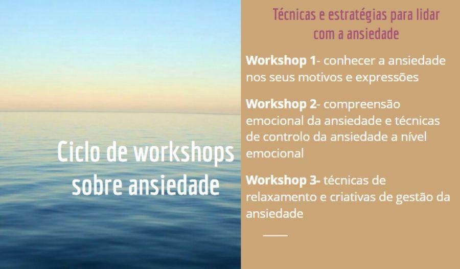 Ciclo de Workshops sobre Ansiedade