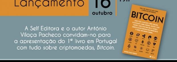 Lançamento do livro 'Bitcoin' e Meetup sobre Criptomoedas