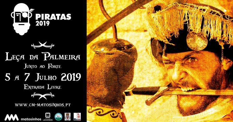 Festa dos PIRATAS Leça da Palmeira 2019