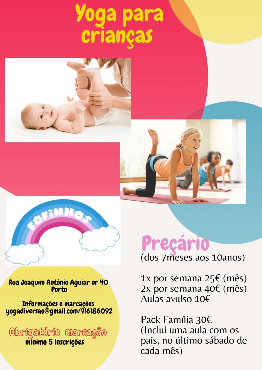 Yoga Diversão para crianças