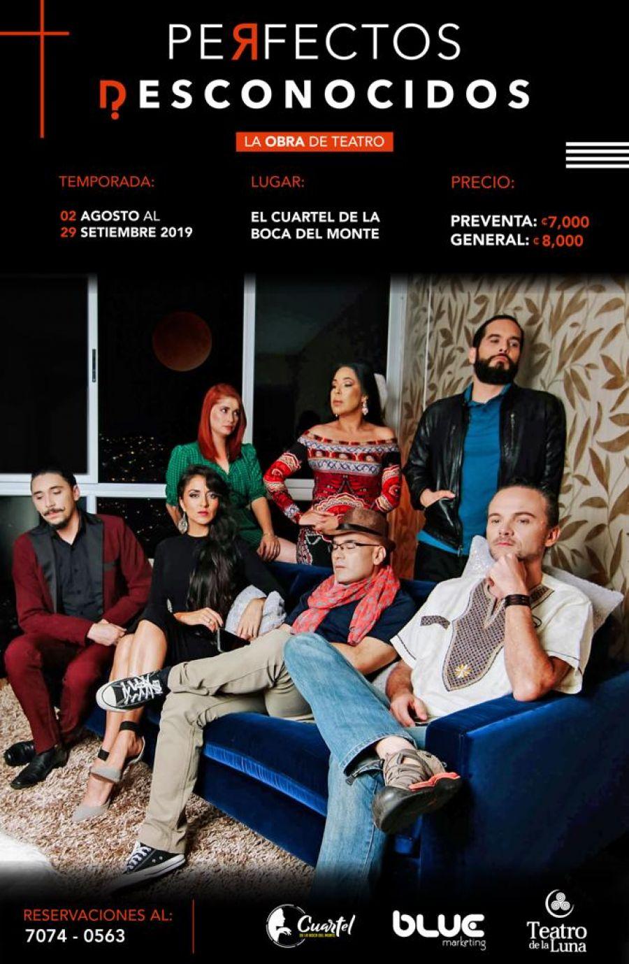 Perfectos desconocidos. La Luna Teatro. Drama