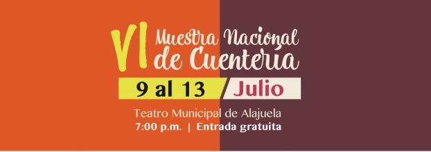 VI Muestra Nacional de Cuentería, Alajuela Ciudad Palabra