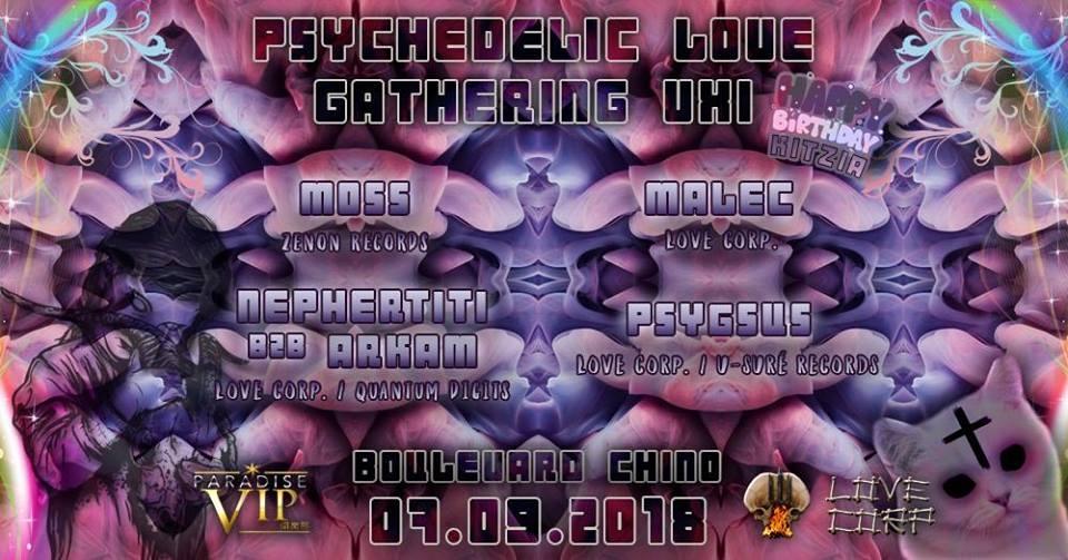 Psychedelic love gathering VXI. Love Corp. Psy Dj Set