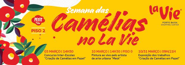 Exposição 'Camélias no La Vie'