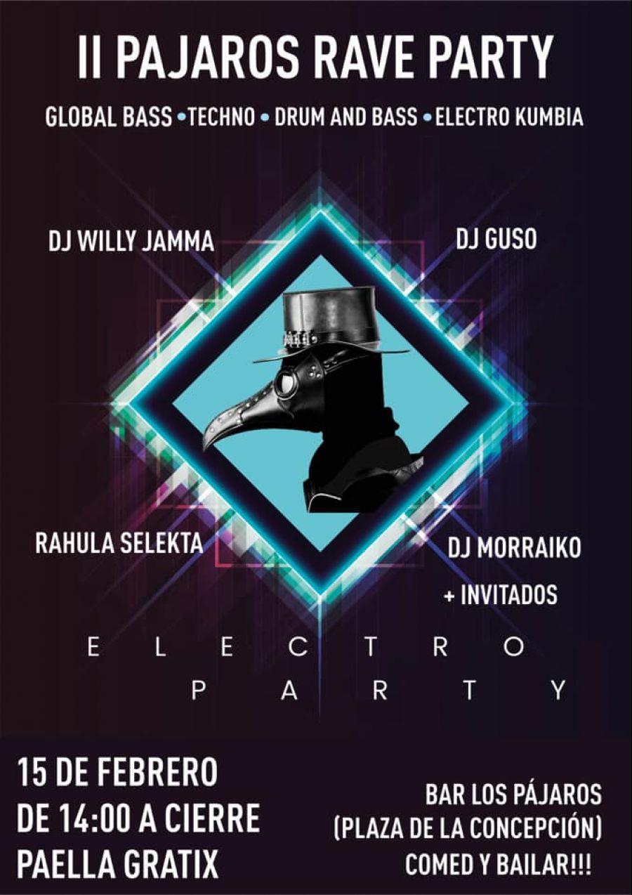 II PAJAROS RAVE PARTY