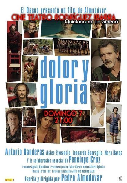 Proyección: 'Dolor y gloria', de Almodóvar | Cine Teatro Rodríguez Ibarra