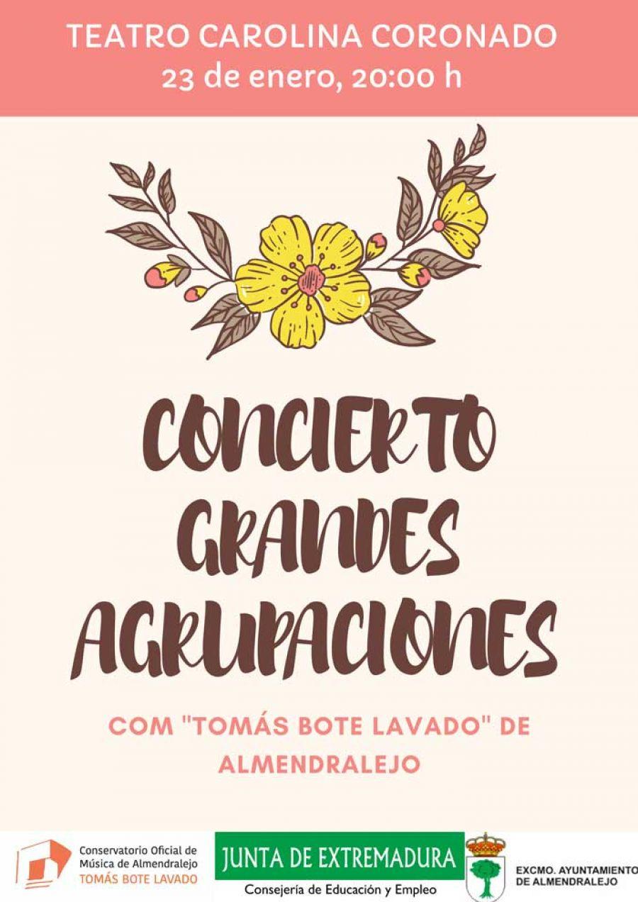 Concierto del COM «Tomás Bote de Almendralejo»